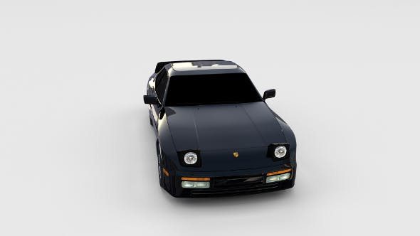 Porsche 944 Turbo rev - 3DOcean Item for Sale