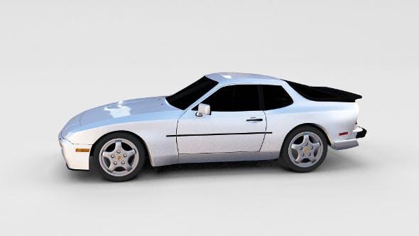 Porsche 944 Turbo S rev - 3DOcean Item for Sale