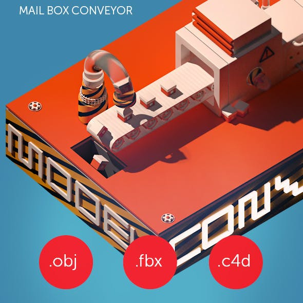 Mail box conveyor