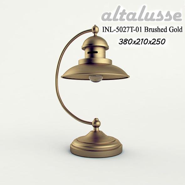 Desk lamp Altalusse INL-5027 Brushed Gold