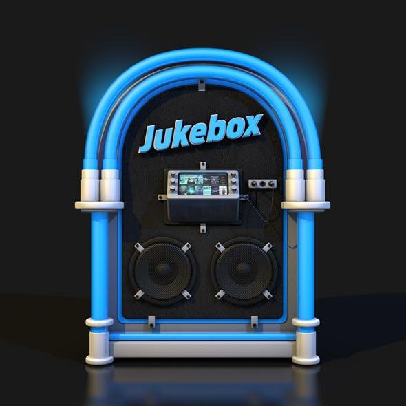 ROCK JUKEBOX METAL LEATHER FLUO - 3DOcean Item for Sale