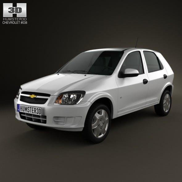 Chevrolet Celta 5-door hatchback 2011 - 3DOcean Item for Sale