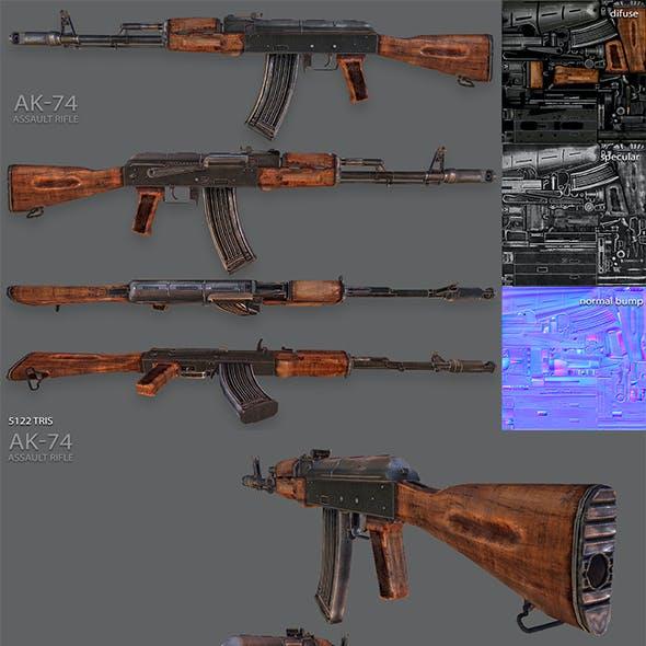 AK-74 Assault Rifle