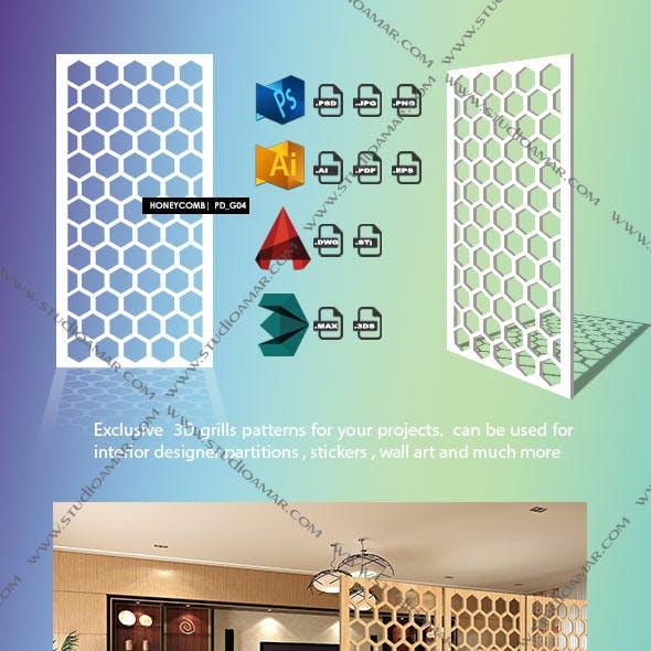 honeycomb (3d screen)PD_G04
