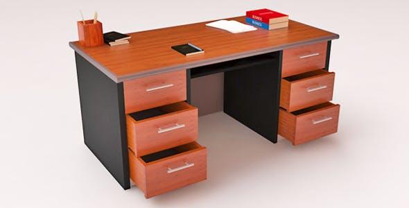 Office Desk Vray - 3DOcean Item for Sale
