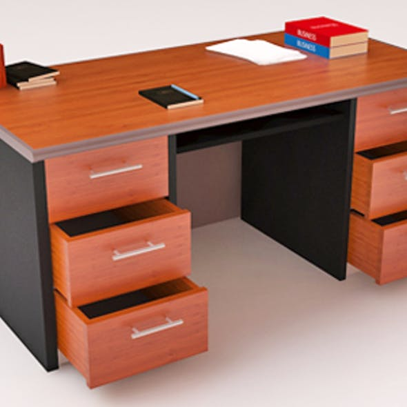 Office Desk Vray
