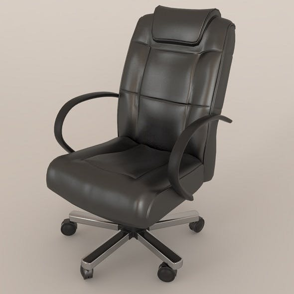 office leather chair - 3DOcean Item for Sale