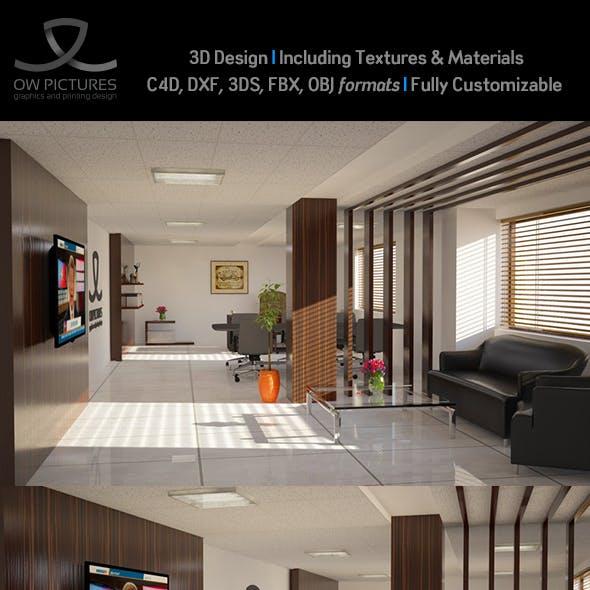 Office2 - 3D Model Design