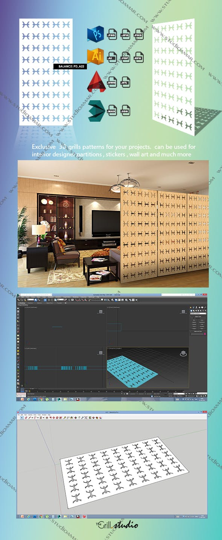 Balance (3D screen ) PD_A22 - 3DOcean Item for Sale