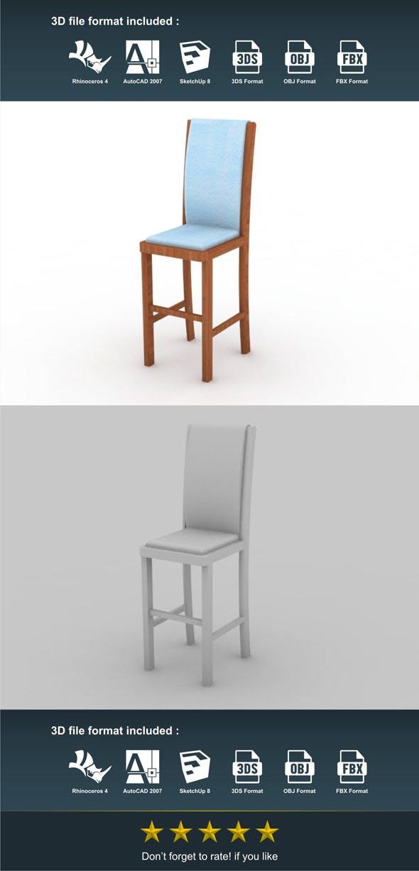Bar Chair 2 - 3DOcean Item for Sale