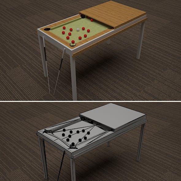 Convertible Snooker Table