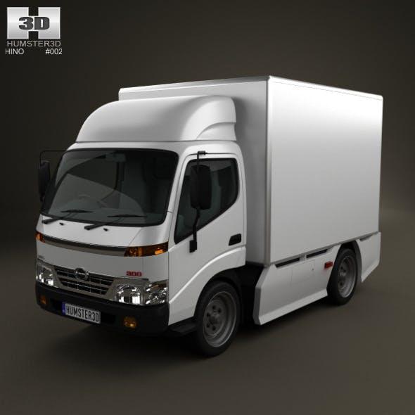 Hino 300 StandardCab Box 2010 - 3DOcean Item for Sale