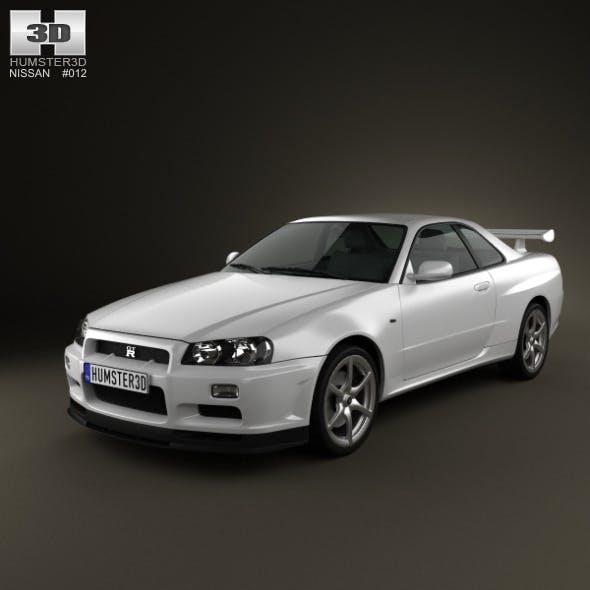Nissan Skyline R34 GT-R coupe 1999