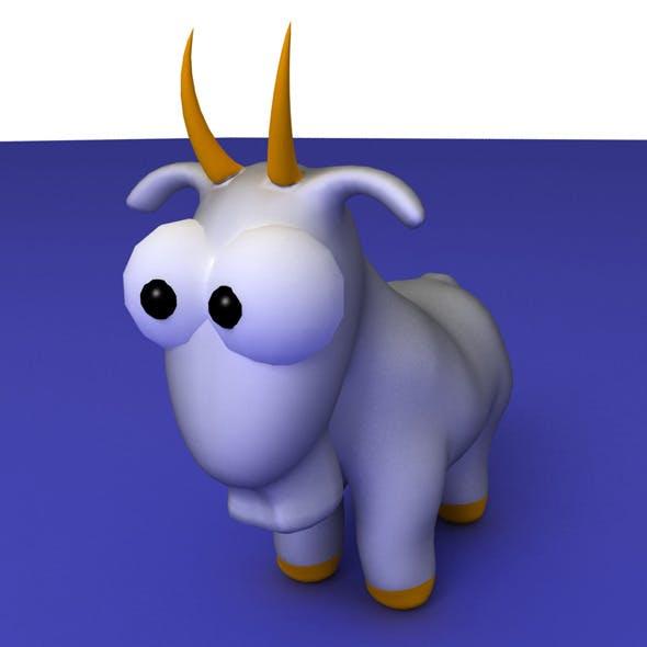 Zodiac Capricorn Cartoon - 3DOcean Item for Sale