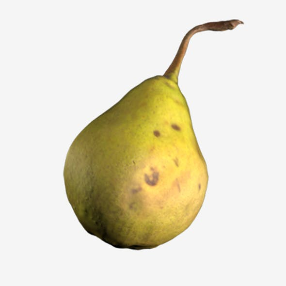 Realistic 3d Pear