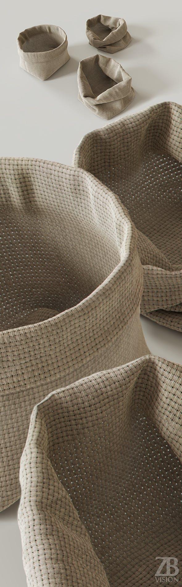 Cloth Sack - 3DOcean Item for Sale