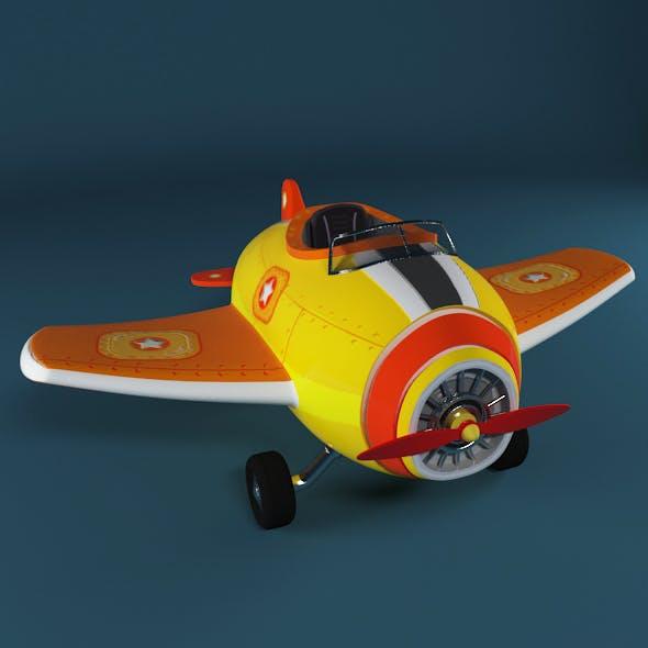 Cartoon Airplane - 3DOcean Item for Sale