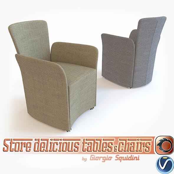 Chair NIDO CALLIGARIS - 3DOcean Item for Sale
