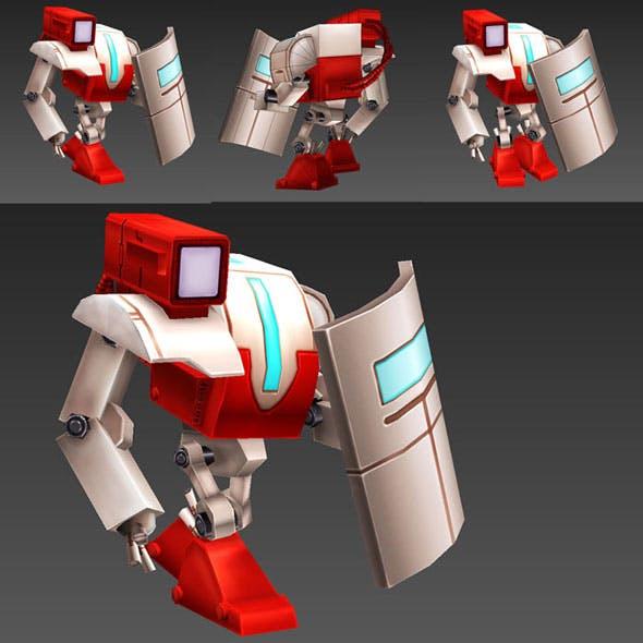 Robots Cadet - 3DOcean Item for Sale