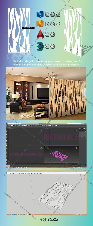 Splash  (3d screens) PD_N14 - 3DOcean Item for Sale