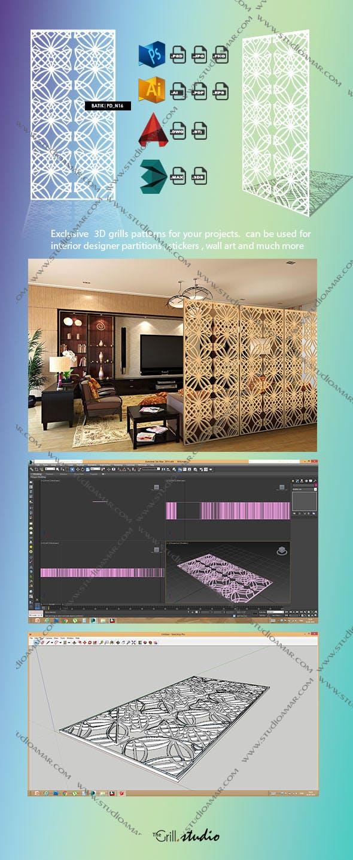 Batik  (3d screens) PD_N16 - 3DOcean Item for Sale