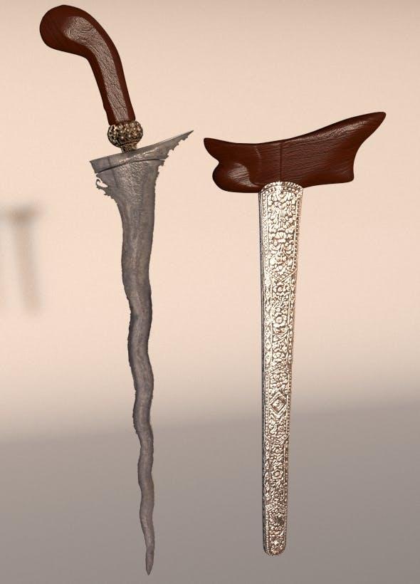 Traditional Javanese Blade 'KERIS' - 3DOcean Item for Sale