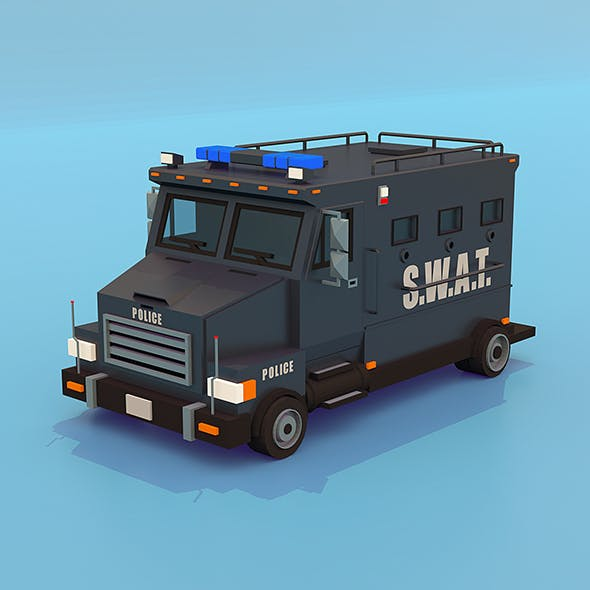 S.W.A.T. Truck with Interior