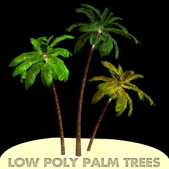 Low Poly Palm tree