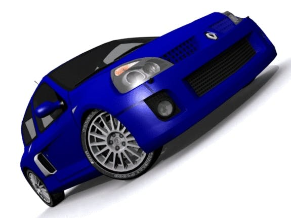 Renault Clio Sport - 3DOcean Item for Sale
