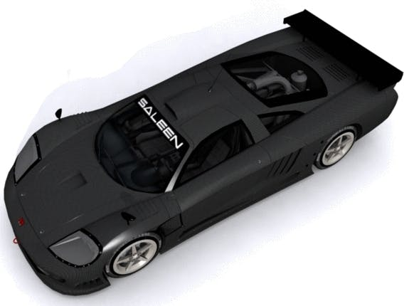 Saleen S7-R - 3DOcean Item for Sale