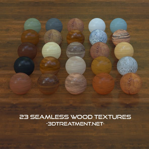 23 Seamless Wood Textures For Cinema4d
