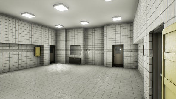 Facility interior modular UE4 - 3DOcean Item for Sale