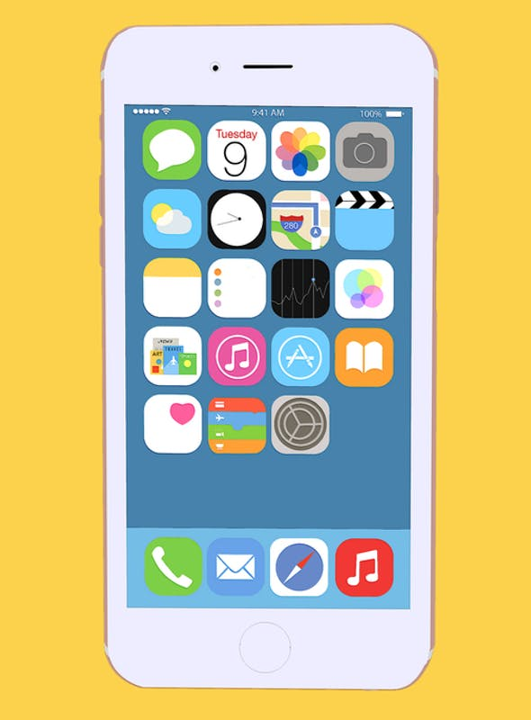 iPhone 6S Cartoon Edition for CINEMA 4D LITE & After Effects