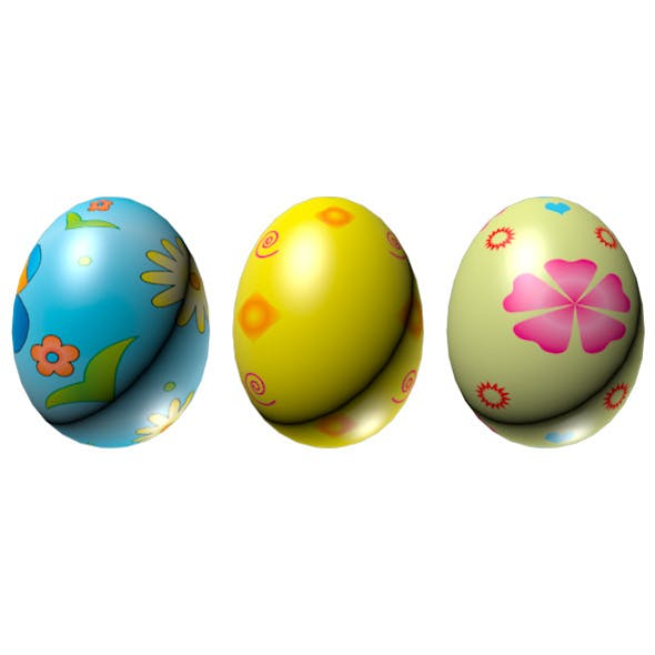 Easter Eggs Set 01