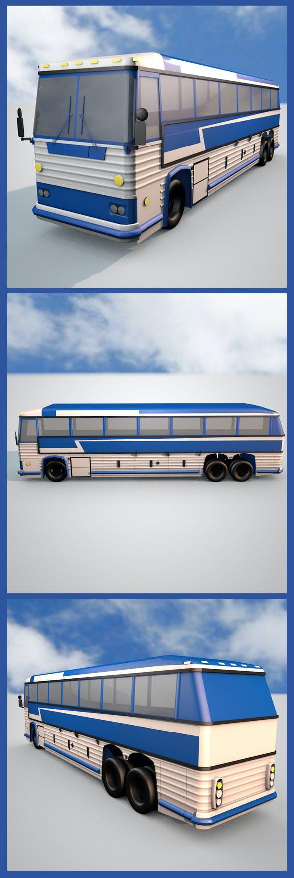 Dual Axle Bus  - 3DOcean Item for Sale