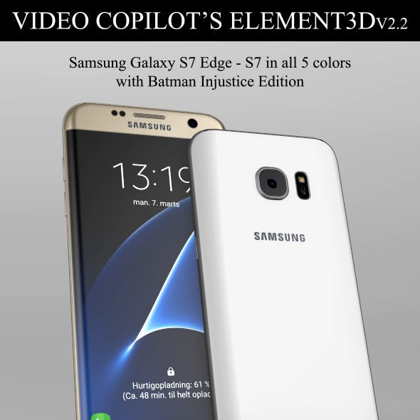 Element3D - Samsung Galaxy S7 & S7 Edge
