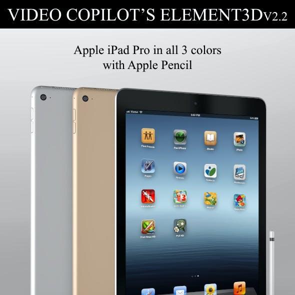 Element3D - iPad Pro