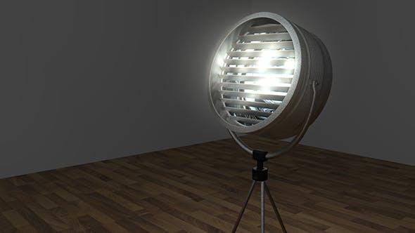 Studio Lamp - 3DOcean Item for Sale