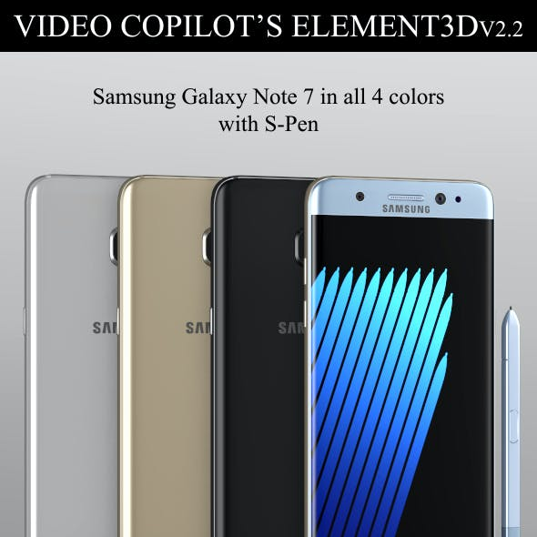 Element3D - Samsung Galaxy Note 7