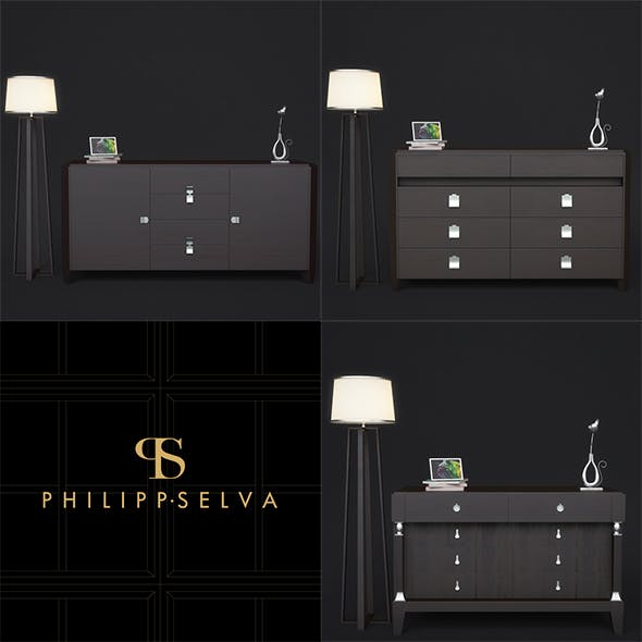 Chests of drawers Philipp