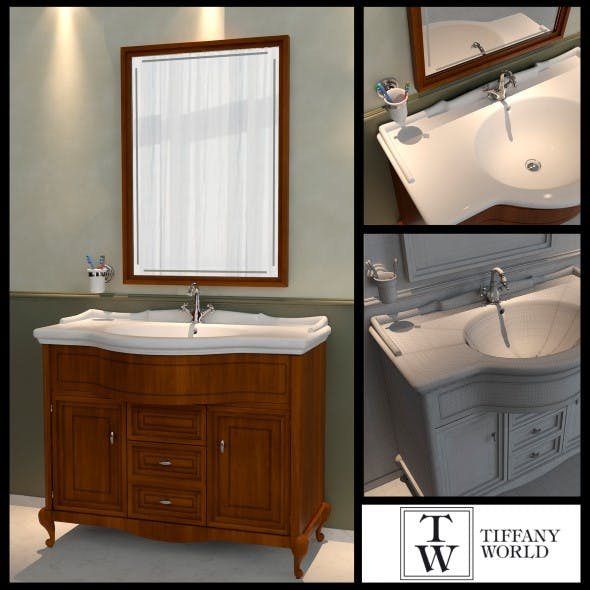 Washbasin Tiffany World Dover