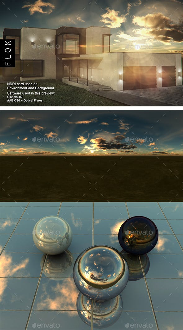 Sunset Desert 74 - 3DOcean Item for Sale