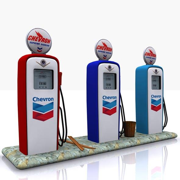Gas Pump Chevron
