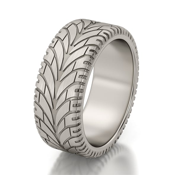 Automotive jewelry ring