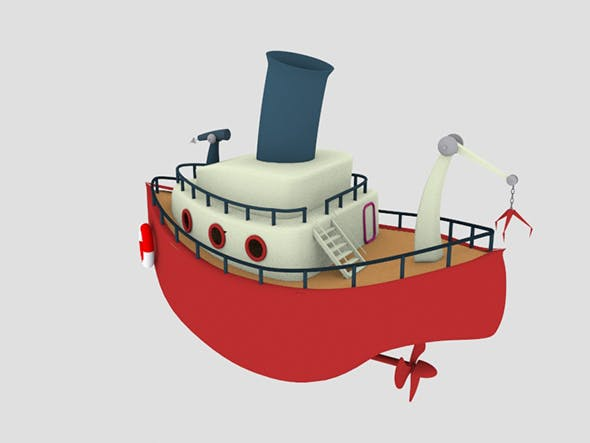 Toy Ship - 3DOcean Item for Sale