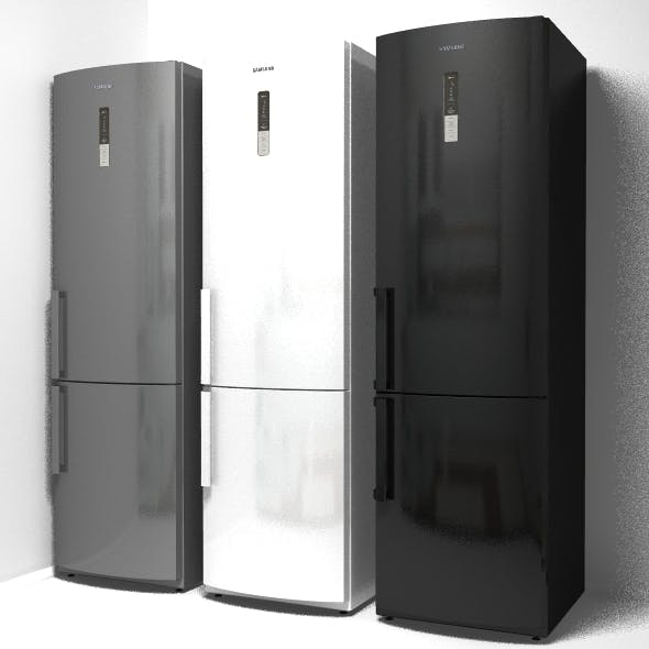 refrigerator 3d model - 3DOcean Item for Sale