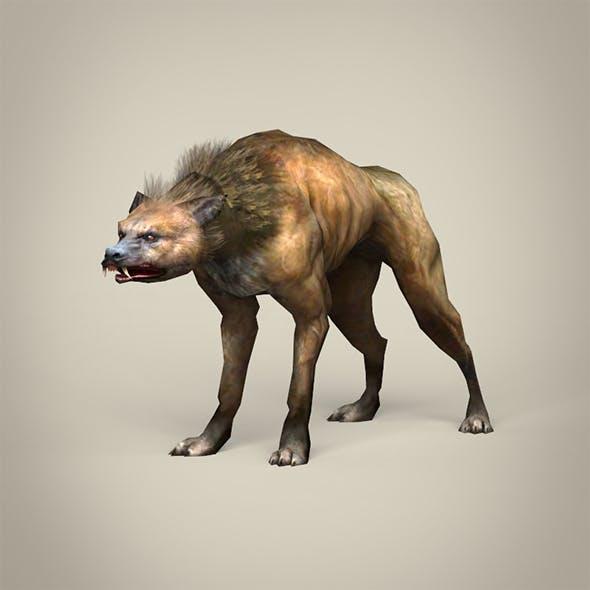 Game Ready Fantasy Hyena
