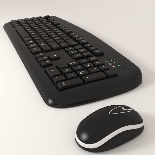 keyboard an mouse - 3DOcean Item for Sale