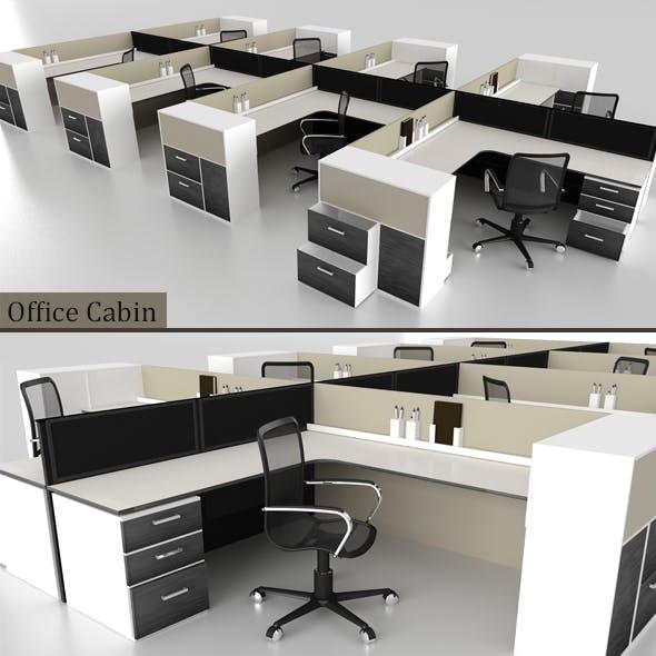 Office Cabin - 3DOcean Item for Sale