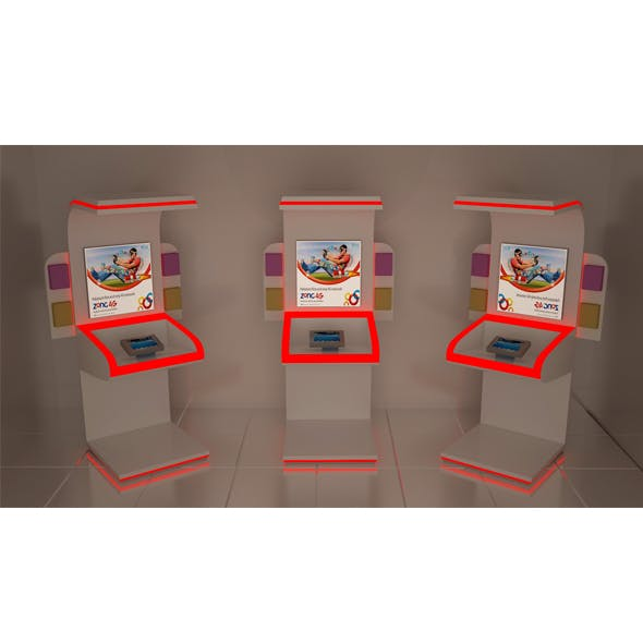 MOBILE DISPLAY MACHINE - 3DOcean Item for Sale